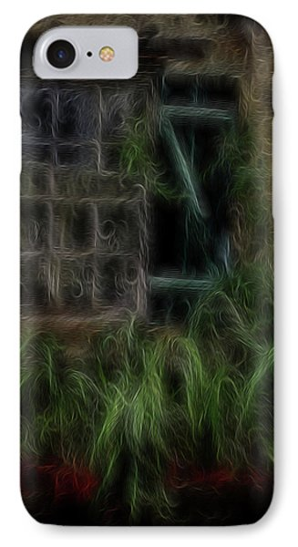 Garden Window 2 Phone Case by William Horden