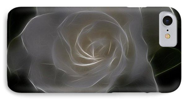 Gardenia Blossom IPhone Case by Deborah Benoit