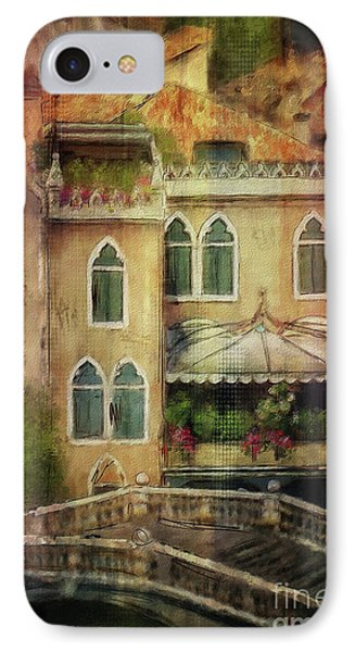 Gardening Venice Style IPhone Case by Lois Bryan