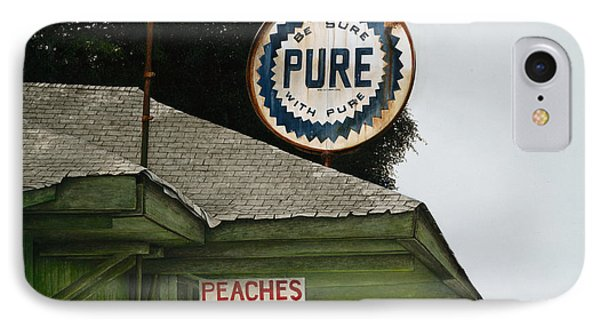 Gardner's Peaches Phone Case by Mike England