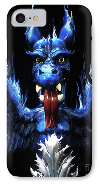 IPhone Case featuring the photograph Gargoyle by Jim and Emily Bush