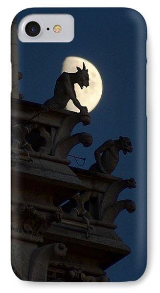 Gargoyle Night Watch Phone Case by Matthew Green
