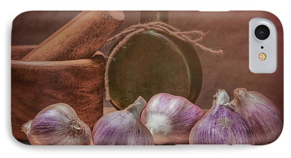 Garlic Bulbs IPhone Case by Tom Mc Nemar