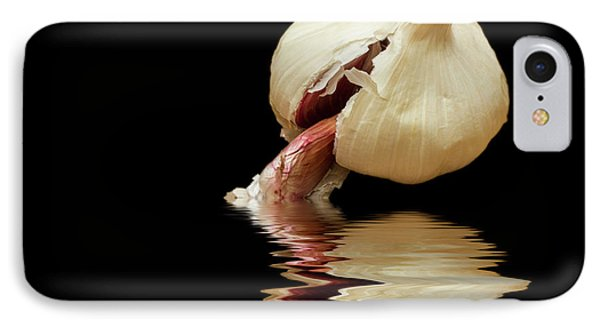IPhone Case featuring the photograph Garlic Cloves Of Garlic by David French