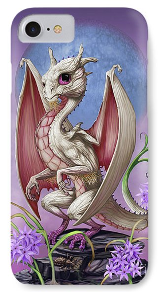 IPhone Case featuring the digital art Garlic Dragon by Stanley Morrison