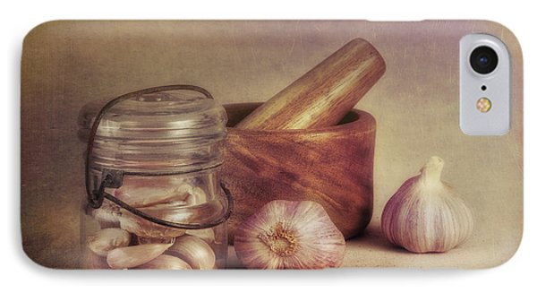 Garlic In A Jar IPhone Case by Tom Mc Nemar
