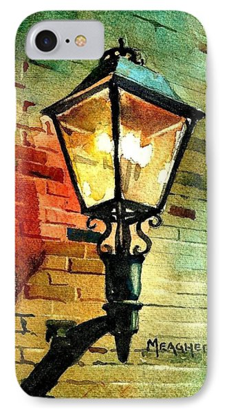 Gas Lamp Phone Case by Spencer Meagher
