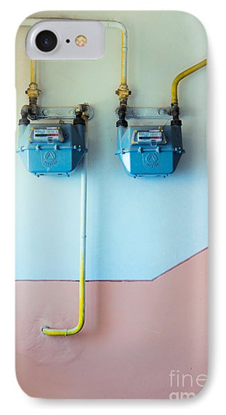 Gas Meters Phone Case by Gabriela Insuratelu