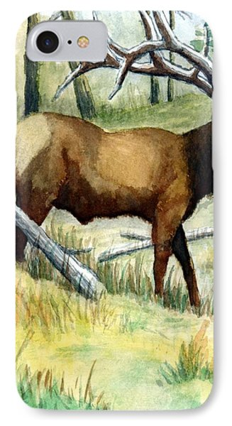 Gash Flats Bull IPhone Case by Jimmy Smith