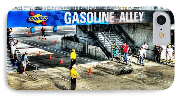 Gasoline Alley IPhone Case by Josh Williams