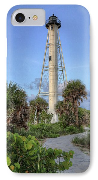 IPhone Case featuring the photograph Gasparilla Island Lighthouse 2 by Donna Kennedy