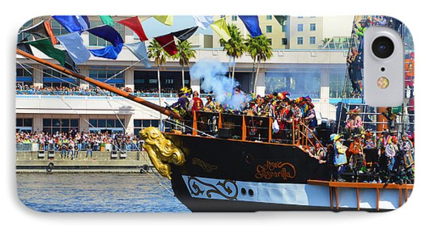 Gasparilla Landing IPhone Case
