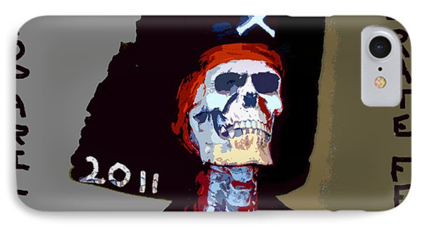 Gasparilla Pirate Fest Poster Phone Case by David Lee Thompson