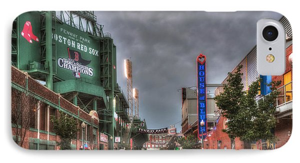 Gate E - Fenway Park Boston IPhone Case by Joann Vitali