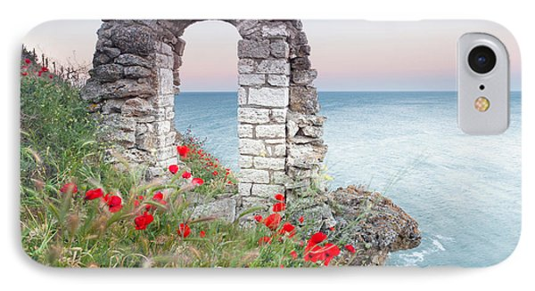 Gate In The Poppies Phone Case by Evgeni Dinev