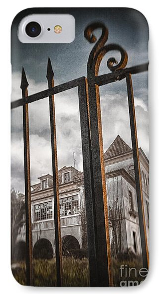 Gate To Haunted House IPhone Case