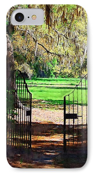 Gate To Heaven IPhone Case by Donna Bentley