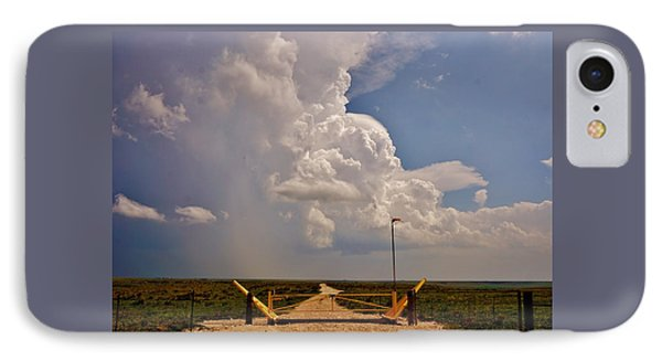 IPhone Case featuring the photograph Gates Of Hail by Ed Sweeney