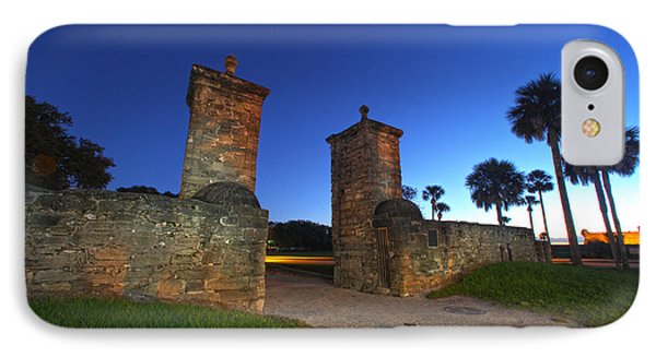 Gates Of The City IPhone Case by Robert Och