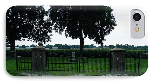Gates Of Youth Cemetery IPhone Case by The GYPSY