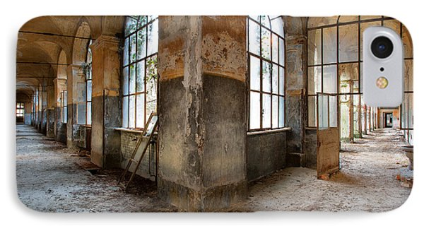 Gateway To Sanity - Abandoned Building IPhone Case by Dirk Ercken