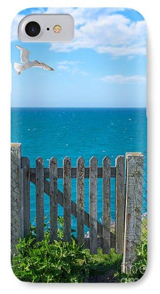 Gateway To The Sea IPhone Case by Amanda Elwell