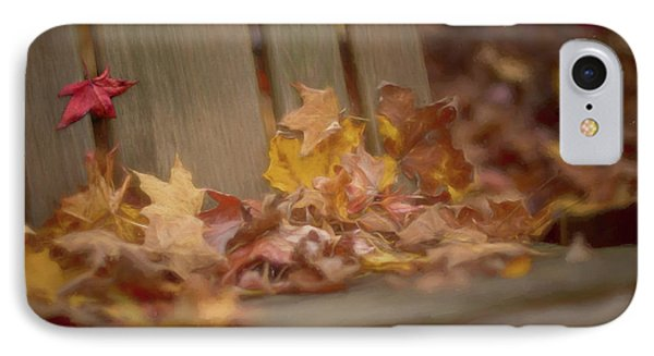 Gathered Leaves IPhone Case