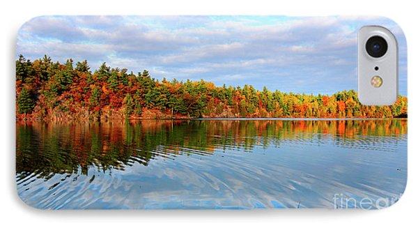 Gatineau Park Autumn Landscape IPhone Case by Charline Xia