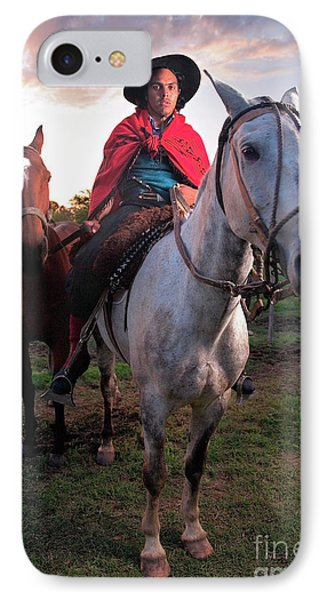 Gaucho Argentino IPhone Case by Bernardo Galmarini