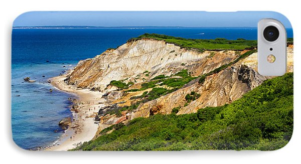 IPhone Case featuring the photograph Gay Head Cliffs by Mark Miller