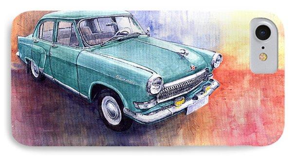 Gaz 21 Volga Phone Case by Yuriy  Shevchuk