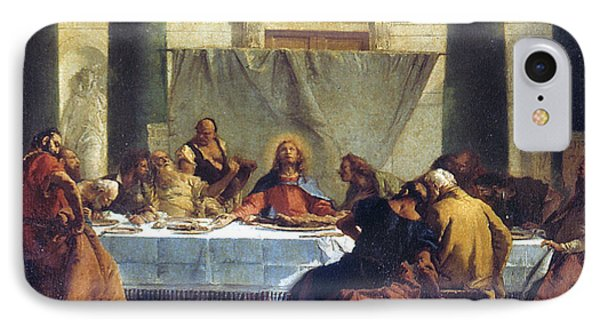 G.b. Tiepolo: Last Supper Phone Case by Granger