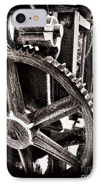Gearology  IPhone Case by Olivier Le Queinec
