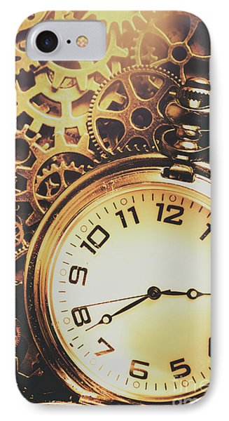 Gears Of Time Travel IPhone Case by Jorgo Photography - Wall Art Gallery