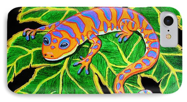 Gecko Hanging On Phone Case by Nick Gustafson