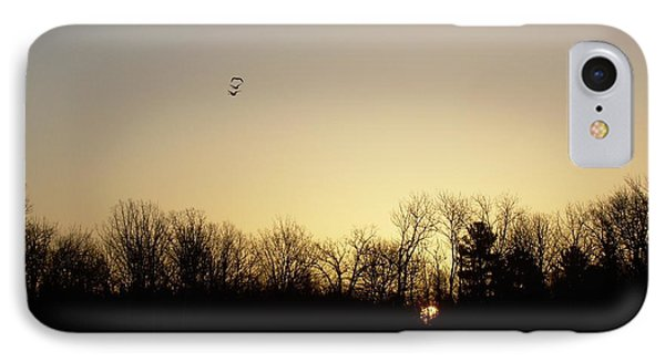 IPhone Case featuring the photograph Geese At Sunrise by Kent Lorentzen