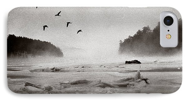 Geese Over Great Bay IPhone Case