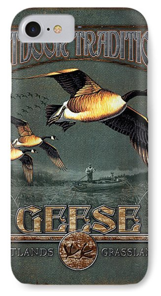 Geese Traditions IPhone 7 Case by JQ Licensing