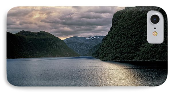 IPhone Case featuring the photograph Geiranger Fjord by Jim Hill