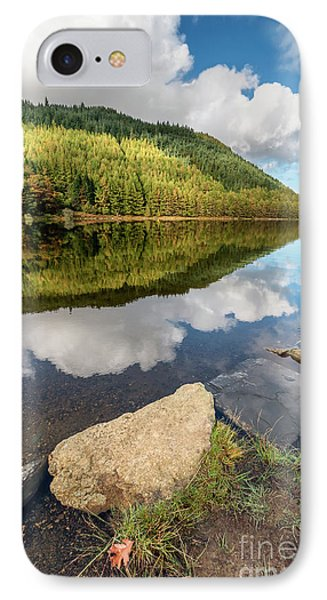 Geirionydd Lake Wales IPhone Case by Adrian Evans