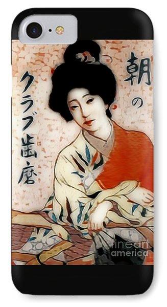 Geisha In Waiting  IPhone Case by Ian Gledhill
