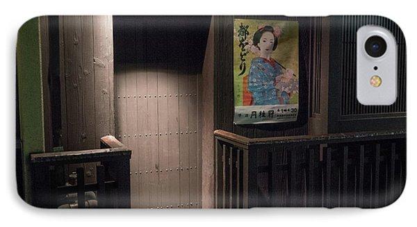 Geisha Tea House, Gion, Kyoto, Japan 2 IPhone Case