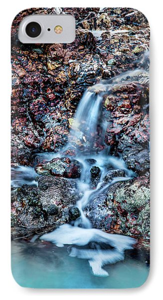 IPhone Case featuring the photograph Gemstone Falls by Az Jackson