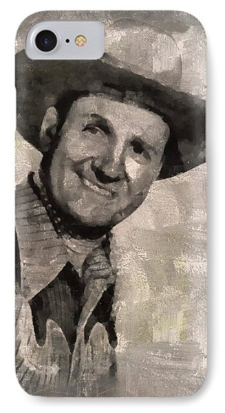 Gene Autry, Western Actor And Singer IPhone Case