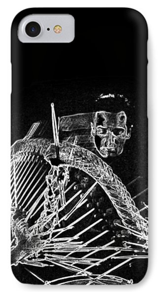 Gene Krupa IPhone Case by Charles Shoup