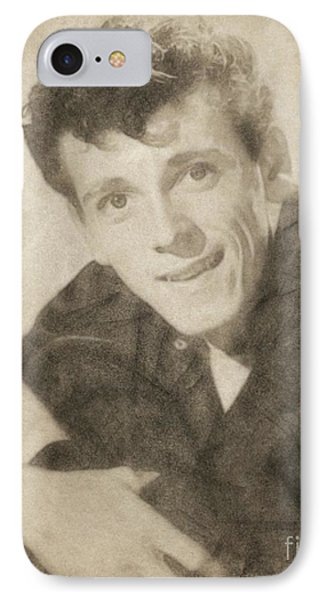 Gene Vincent, Music Legend By John Springfield IPhone Case by John Springfield