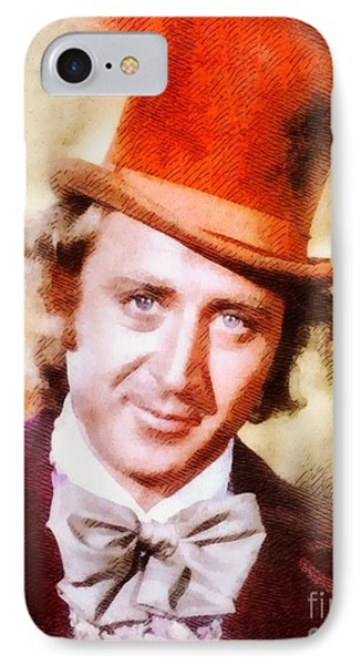 Gene Wilder, Vintage Actor IPhone Case