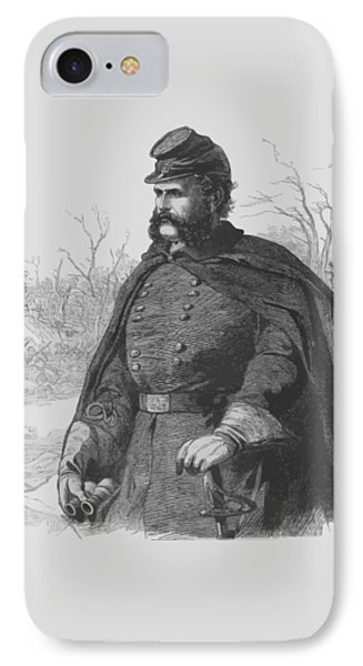 General Ambrose Burnside Phone Case by War Is Hell Store