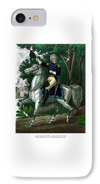 General Andrew Jackson On Horseback IPhone Case