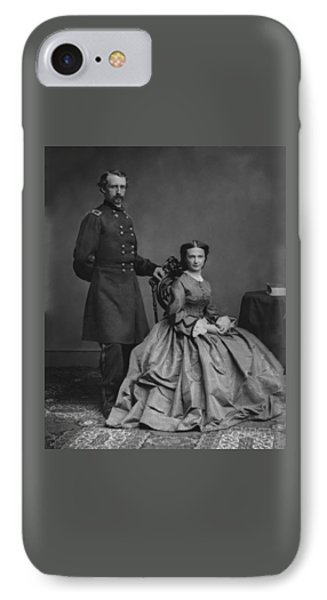 General Custer And His Wife Libbie Phone Case by War Is Hell Store